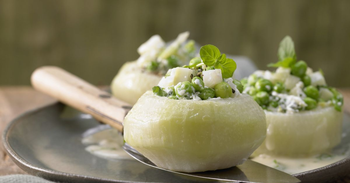 Stuffed Kohlrabi Recipe Eat Smarter Usa