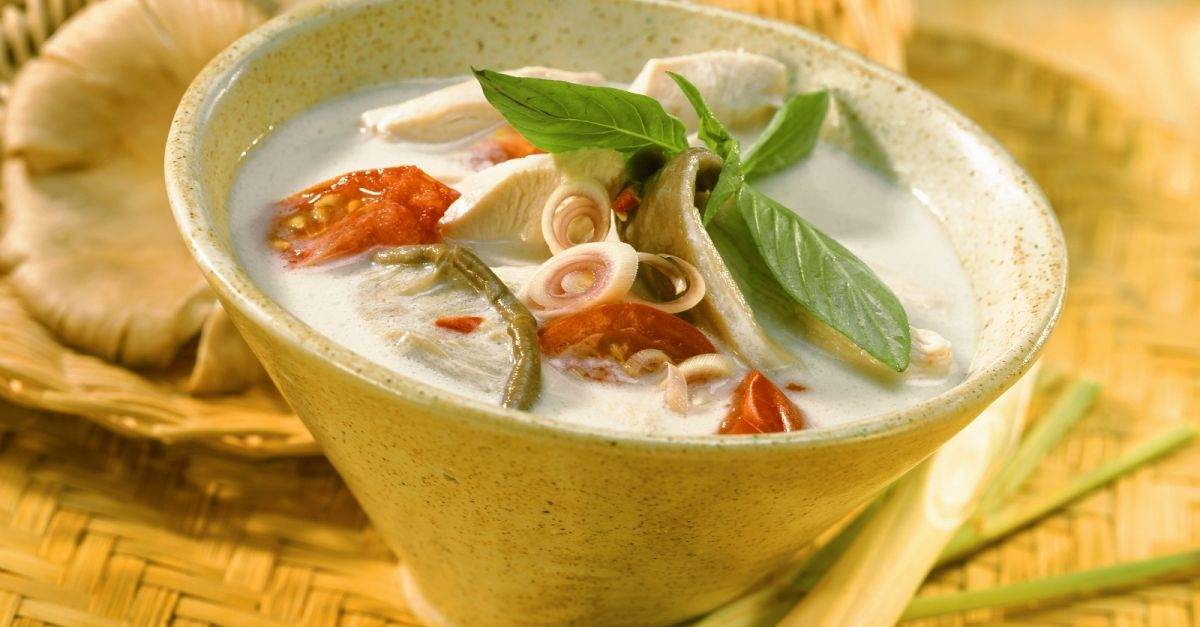 Thai Style Chicken Soup With Lemongrass And Mushrooms Recipe Eat Smarter Usa