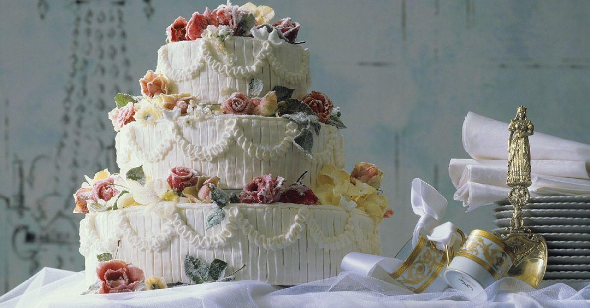 Three-Tiered Wedding Cake Recipe   EatSmarter