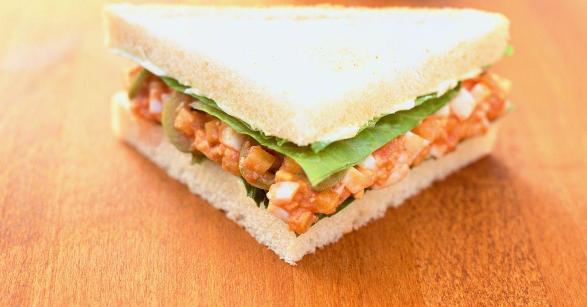tomato egg sandwich recipe eatsmarter