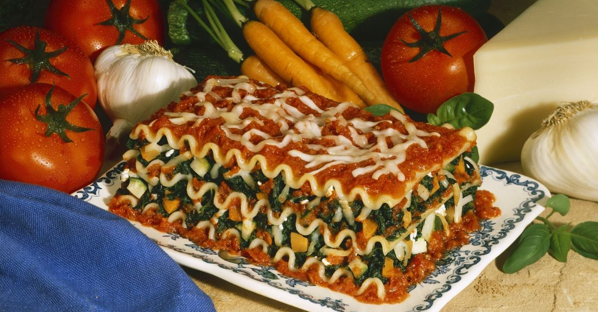 Vegetarian Lasagna With Spinach And Carrots Recipe Eat Smarter Usa