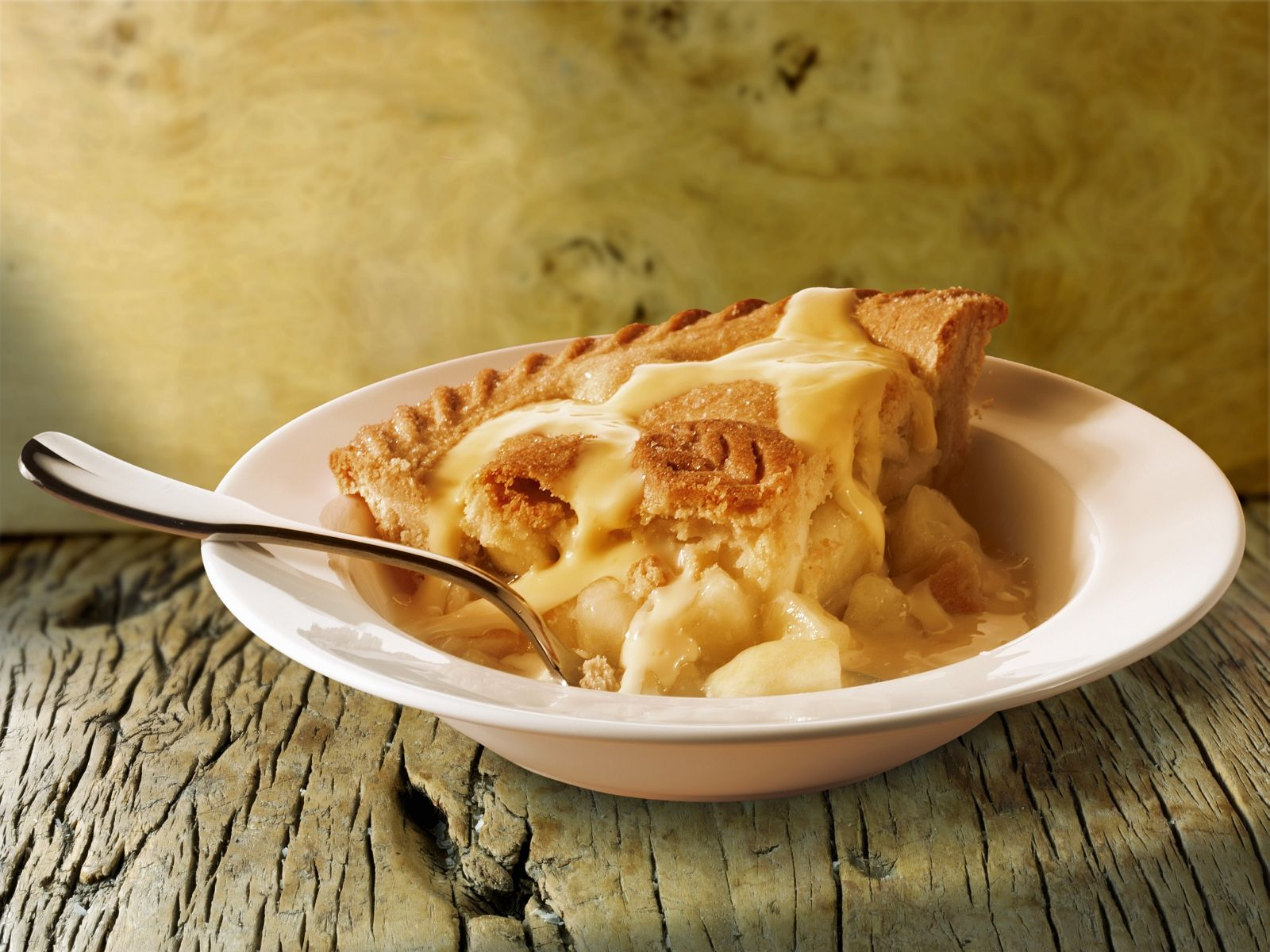 Pictures Of Apple Pie And Custard