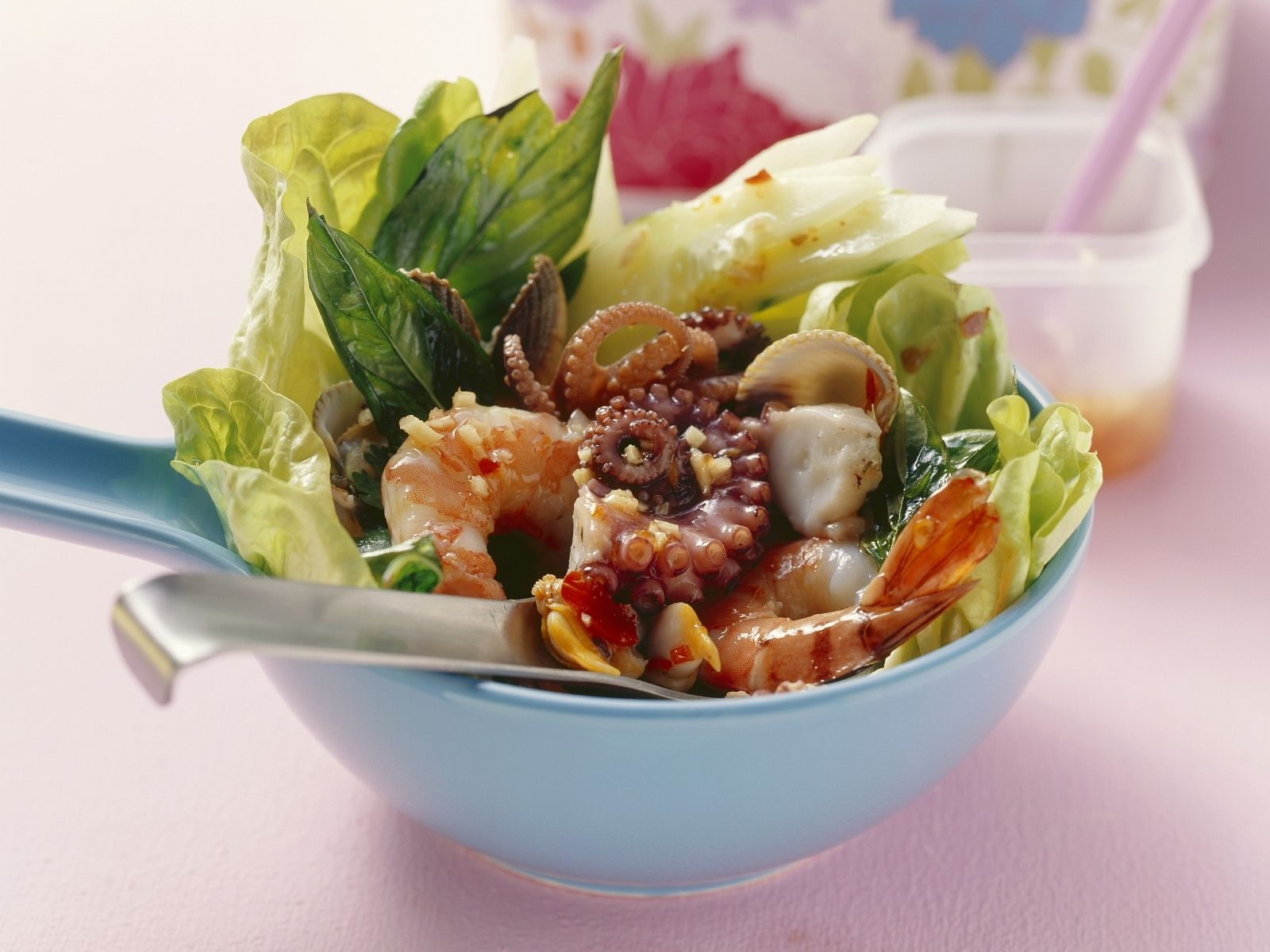 Asian Seafood Salad recipe