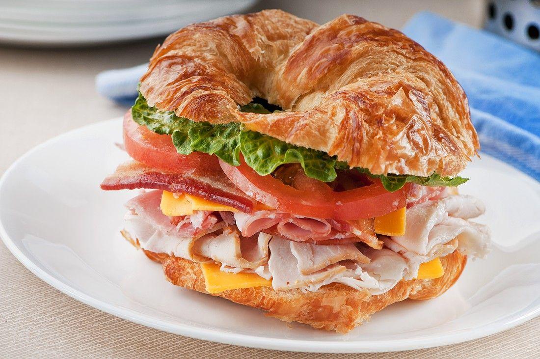 Croissant Sandwich With Ham Recipe Eat Smarter Usa