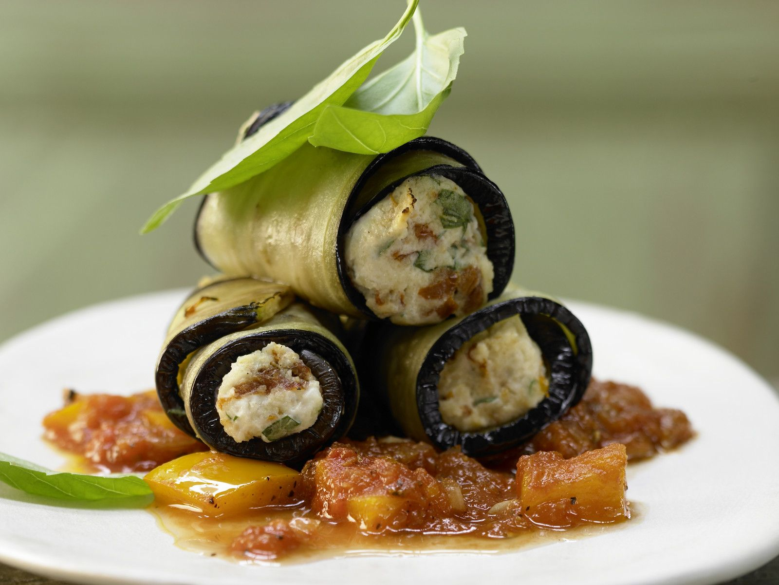 Pasta Flora Rezept eggplant cannelloni recipe eat smarter usa