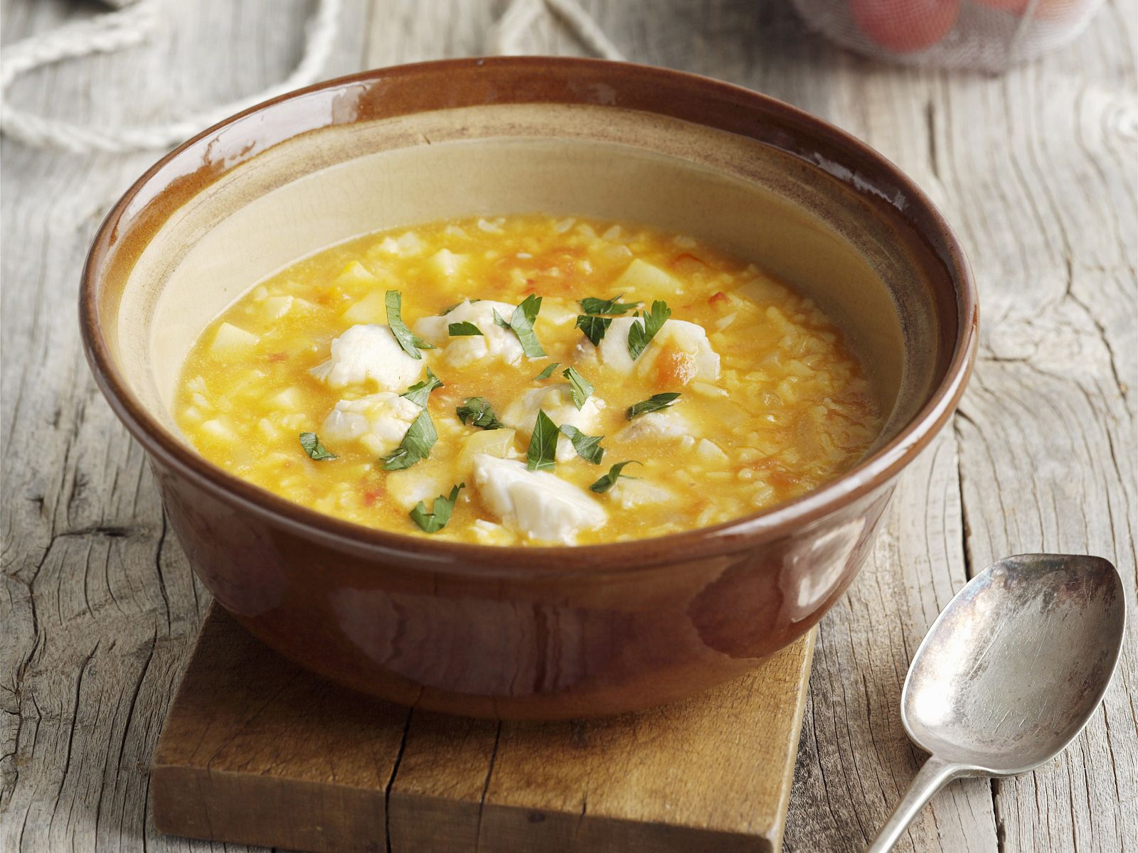 Fish And Rice Soup Recipe Eat Smarter Usa