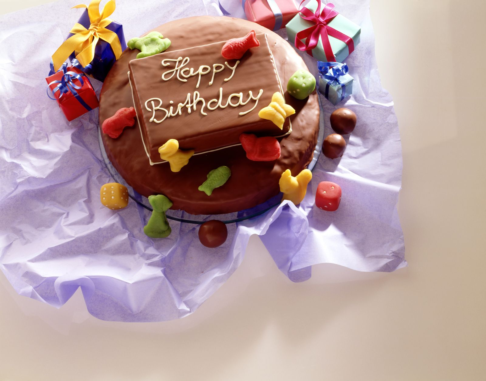Prime Layered Hazelnut And Marble Birthday Cake Recipe Eat Smarter Usa Funny Birthday Cards Online Elaedamsfinfo