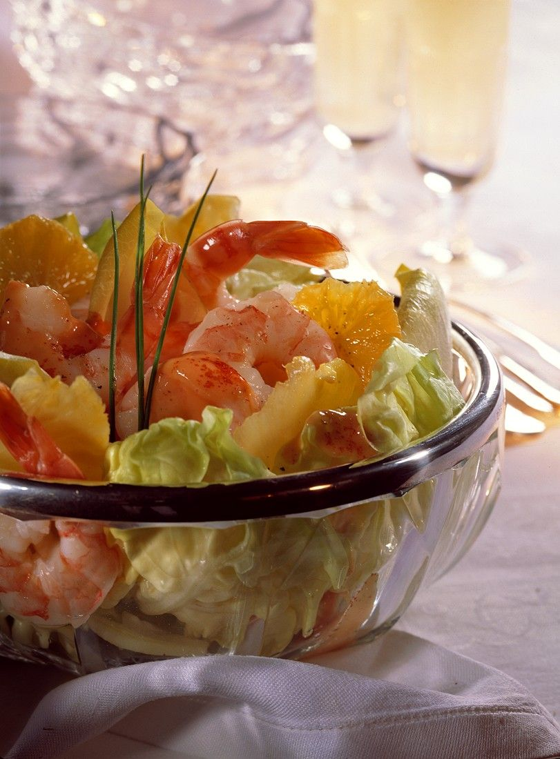 Shrimp Salad with Cocktail Dressing recipe | Eat Smarter USA