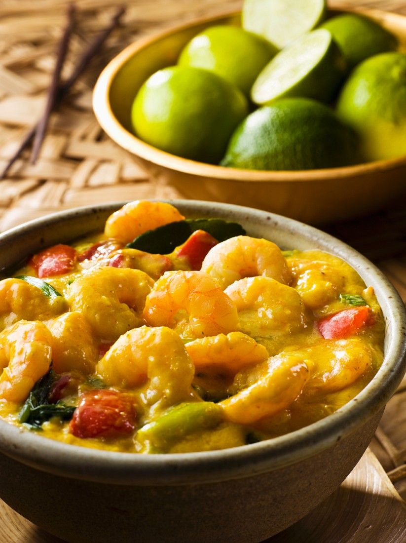 South East Asian Seafood Curry