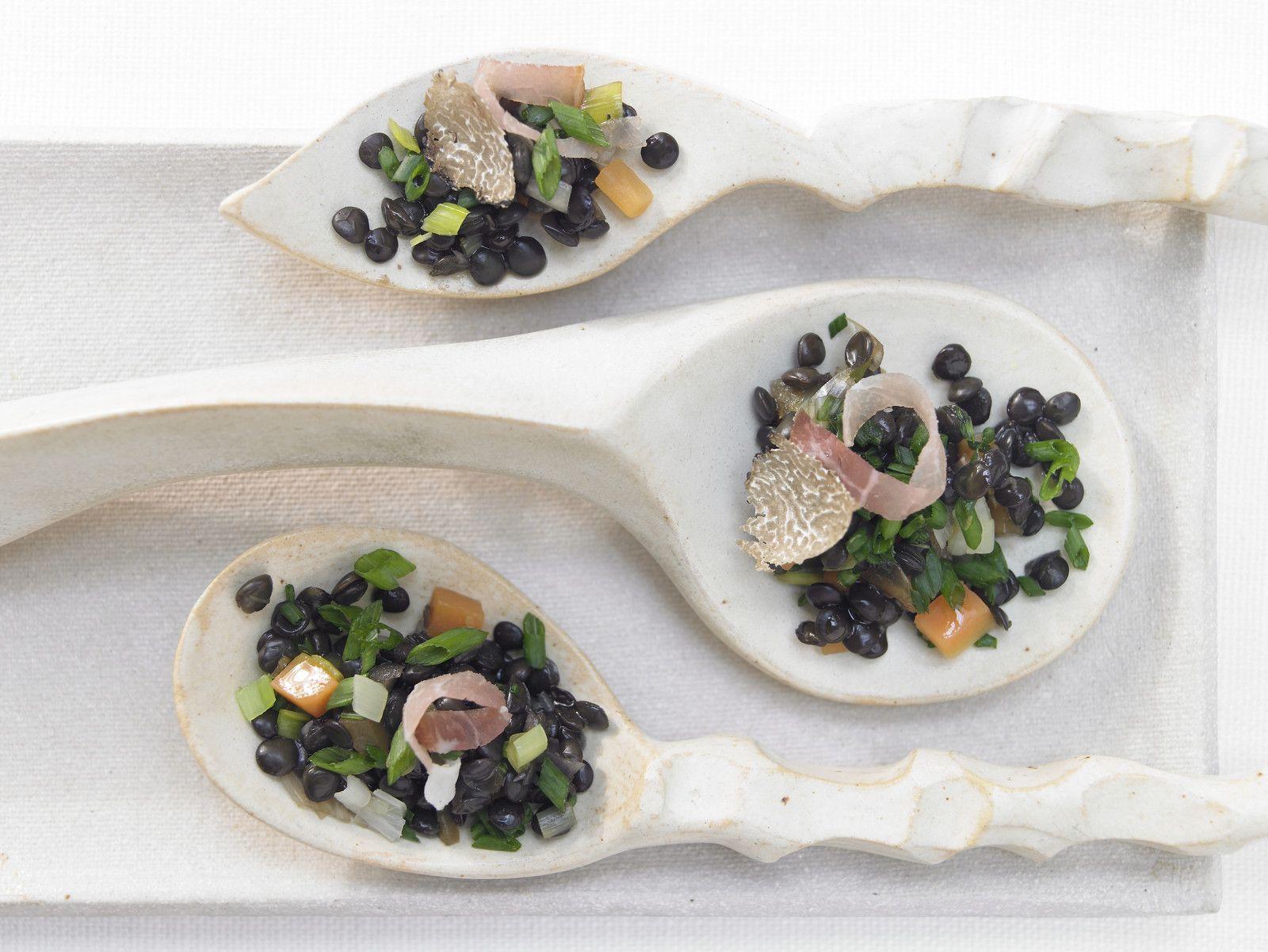Truffled Beluga Lentils Recipe Eat Smarter Usa