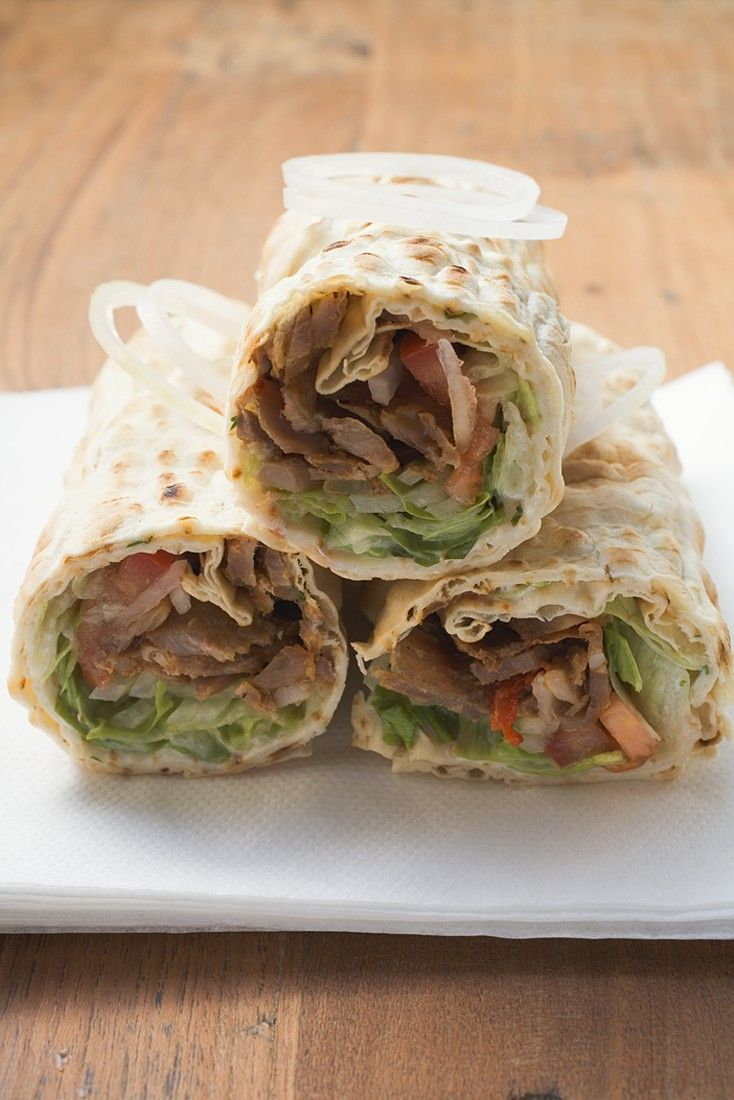 Wraps With Kebab Filling Recipe Eat Smarter Usa