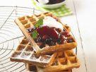 Amaranth Waffles recipe