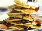 American Blueberry Pancakes recipe