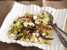 Angel Hair Pasta with Bacon and Red Onion recipe