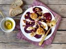 Apple and Beet Carpaccio with Goat Cheese recipe