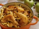 Apple and Chicken Stew with Calvados recipe