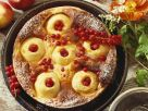 Apple Cake with Quark and Currants recipe