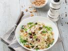 Apple Kohlrabi Salad with Goat Cheese, Cranberries and Walnuts recipe