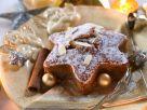 Apricot and Raisin Star Cakes recipe
