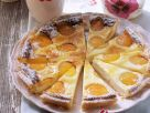 Soft Cheese and Stone Fruit Tart recipe