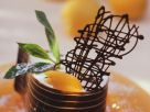 Apricot Cream in Chocolate Cups recipe