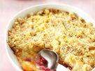 Apricot-Currant Crumble recipe