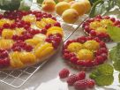 Raspberry and Apricot Tart recipe