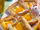 Apricot Slices with Vanilla Cream recipe