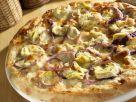 Artichoke Pizza with Red Onions recipe