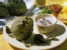 Artichokes with Truffle Sauce recipe