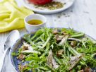 Arugula and Asparagus Spear Salad Platter recipe