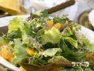 Arugula and Batavia Lettuce Salad with Oranges recipe