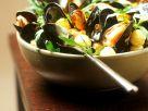 Arugula and Mussels recipe