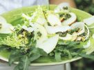 Thin Sliced Fruit and Rocket Salad recipe