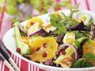 Arugula Quinoa Salad with Oranges and Avocado recipe