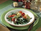 Arugula Salad with Artichokes and Tomatoes recipe