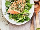 Salad with Baked Salmon recipe