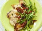 Arugula with Chicken Escalopes recipe