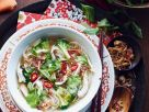Asian Chicken Vegetable Soup recipe