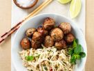 Asian Meatballs and Noodles recipe