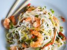 Asian Noodles with Shrimp recipe