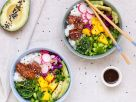 Asian Sesame Poké Bowl recipe