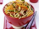 Asian-style Pork Noodles recipe