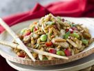 Asian-Style Stir-Fried Chicken with Orzo recipe