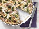 Asparagus and Broccoli Tart recipe