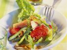 Asparagus and Trout Salad with Almonds recipe