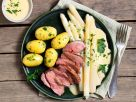 Asparagus Classic with Duck Breast recipe