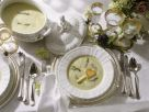 Asparagus Soup with Croutons recipe