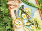 Asparagus Salad with Creamy Lemon Dressing recipe