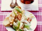 Asparagus Salad with Strawberries recipe